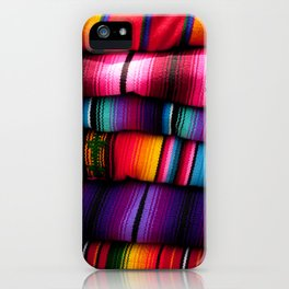 Guatemalan Blankets in Antigua iPhone Case
