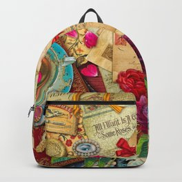 Vintage Love Letters Backpack