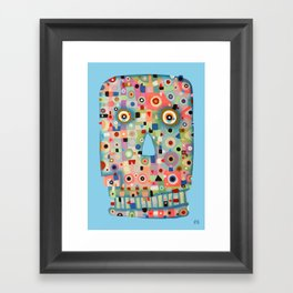 My Skull Framed Art Print