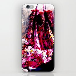 garden party iPhone Skin