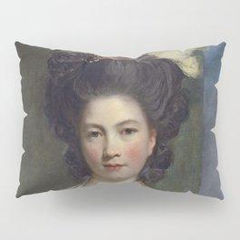 """Sir Joshua Reynolds """"Portrait of Elizabeth, Lady Forbes"""" Pillow Sham"""
