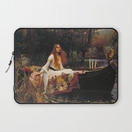 John William Waterhouse - The lady of shalott Laptop Sleeve