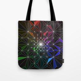 Spotty Variation 2 Geometric Art Print. Tote Bag