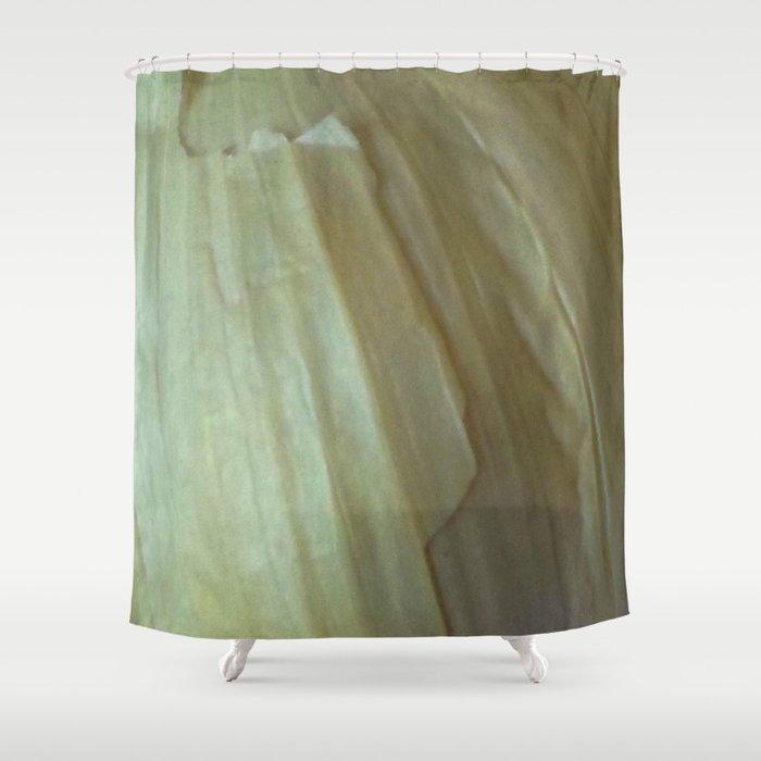 Garlic Skin Shower Curtain