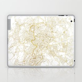 Rome Map Red Laptop & iPad Skin
