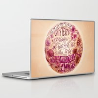 camus Laptop & iPad Skins featuring Invincible Summer by Biljana Kroll
