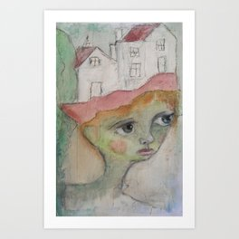 Dreamhouse Art Print