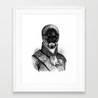 bdsm Framed Art Prints featuring BDSM XXI by DIVIDUS