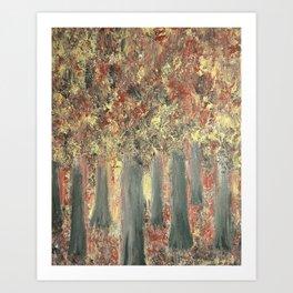 Forest Feeling Art Print