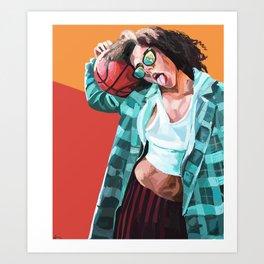 Davina Art Print
