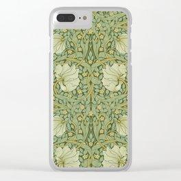 """William Morris """"Pimpernel"""" 1. Clear iPhone Case"""