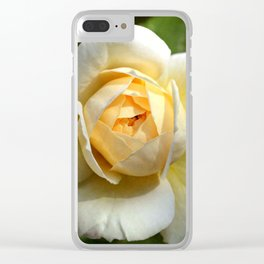 Simply the rose... Clear iPhone Case