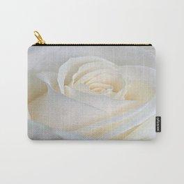 white rose  , white rose  games, white rose  blanket, white rose  duvet cover, Carry-All Pouch