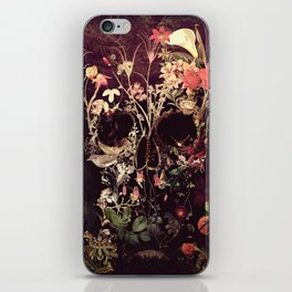 Bloom Skull iPhone Skin