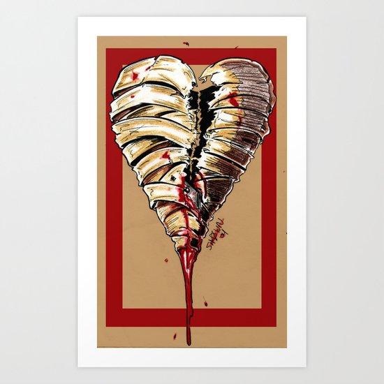 Razor Blade Romance Art Print
