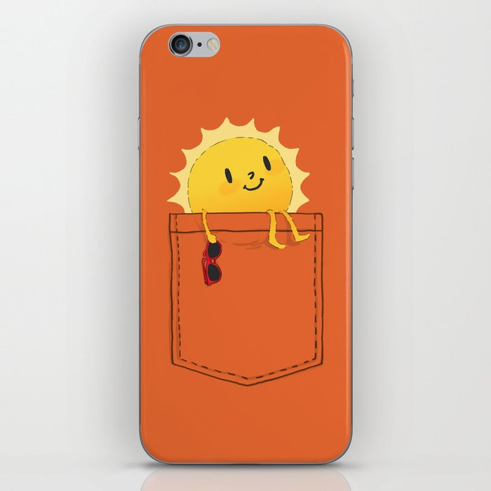 Pocketful of sunshine iPhone Skin