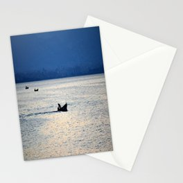 sea with boats Stationery Cards