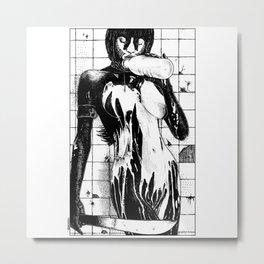 asc 453 - La purification avant la lutte (The war paint) Metal Print