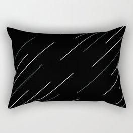 Go in to the dark Rectangular Pillow