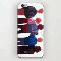 johannathemad iPhone & iPod Skins featuring the club of five by JohannaTheMad