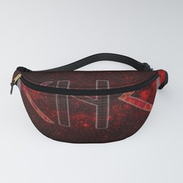 Mirror rune protection Fanny Pack