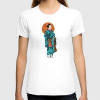 geisha T-shirts featuring Geisha by Steve W Schwartz Art