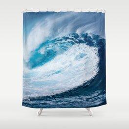 La Ola Shower Curtain
