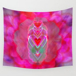 The Hearts Mantra Wall Tapestry