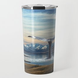 Big Fish In A Little Pond-Whale in New Zealand Travel Mug