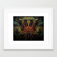moth Framed Art Prints featuring moth by AmeliaPeelArt