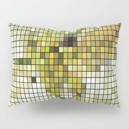 Pale Yellow Poinsettia 1 Mosaic Pillow Sham