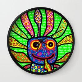 Mexicanitos al grito - Alexbrijin Wall Clock