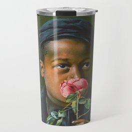 Vintage African American Art Travel Mug