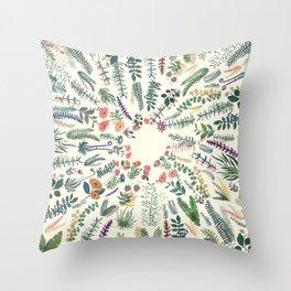 central garden Throw Pillow