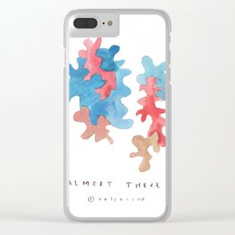 Matisse Inspired   Becoming Series    Almost There Clear iPhone Case