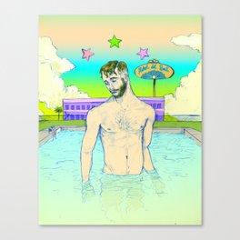 Hotel del Sol Canvas Print