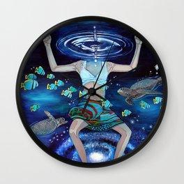Dreaming of Creation Wall Clock