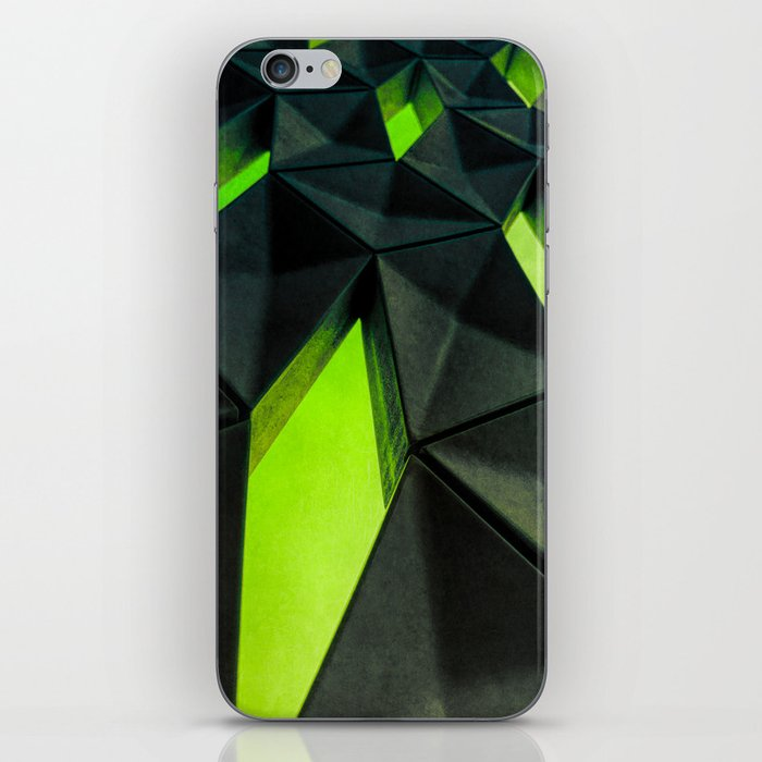 Dark Kryptonite by Brian Vegas iPhone Skin
