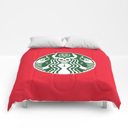 The Red Cup Of Doom Comforters