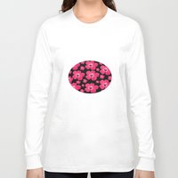 hibiscus Long Sleeve T-shirts featuring Hibiscus   by maggs326