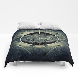 Sacred Geometry for your daily life -  SATURN EYE Comforters