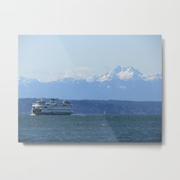 """Tacoma"" Ferry and the Brothers Metal Print"