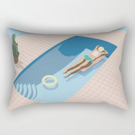 2 COOL 4 POOL Rectangular Pillow