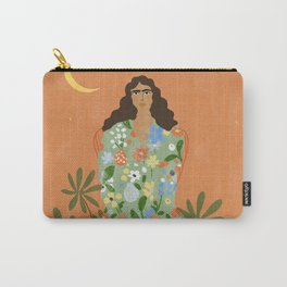 Life With Flowers Carry-All Pouch