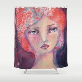 Folie by Jane Davenport Shower Curtain