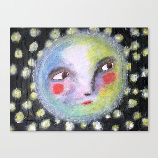 Mr.Moonlight Canvas Print