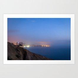 An Evening on the Coast Art Print