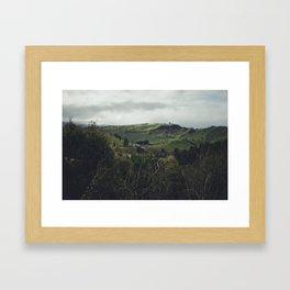 Taihape Hills Framed Art Print