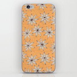 sema apricot brown iPhone Skin