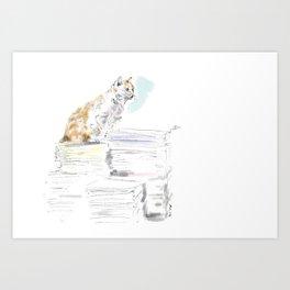 Hong Kong Cats #1 Art Print